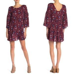 WILLIAM RAST   Sandra Babydoll Dress BOHEMIAN XL